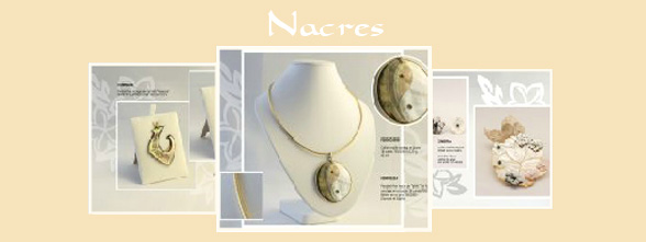 Catalogue Nacre